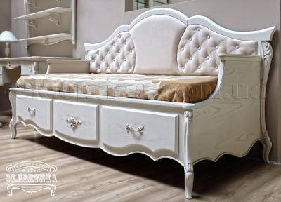 Кровать-диван Валенсия Кровати из дерева Одесса, деревянные кровати под заказ
