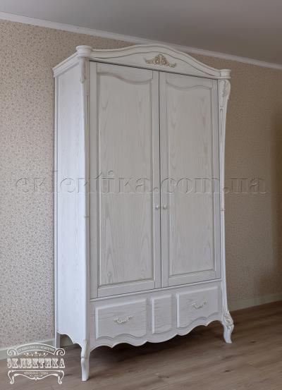 Шкаф Валенсия 2 двери 2 ящика Шкафы из дерева Одесса, шкафы под заказ