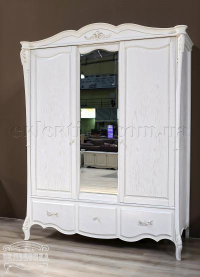 Шкаф Валенсия 3 двери 2 ящика Шкафы из дерева Одесса, шкафы под заказ