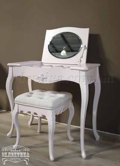 Будуарный стол Валенсия с зеркалом Будуарные столы из дерева Одесса, туалетные столики