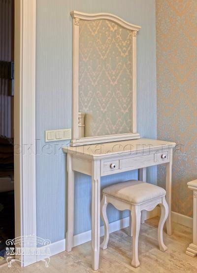 Рама с зеркалом Магия Будуарные столы из дерева Одесса, туалетные столики