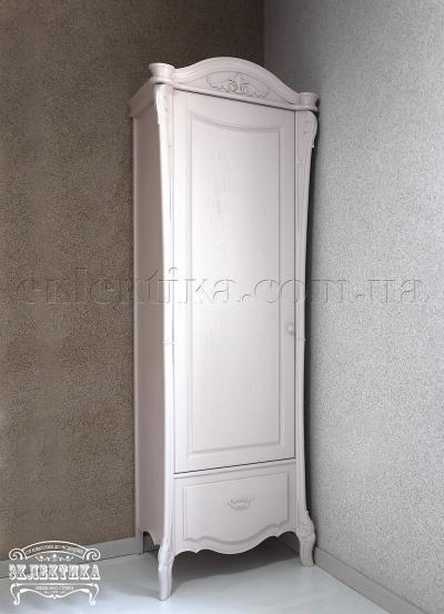 Шкаф Валенсия 1 дверь 1 ящик Шкафы из дерева Одесса, шкафы под заказ