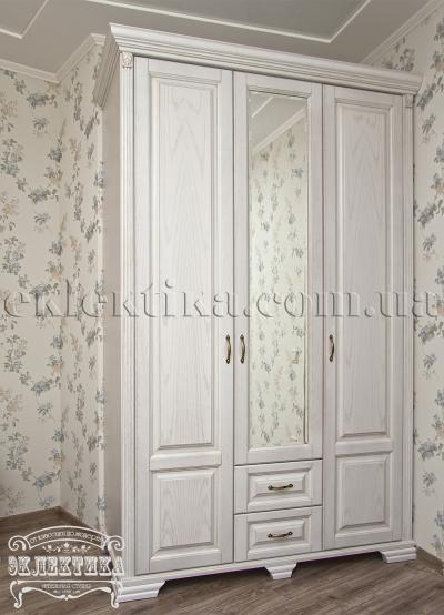 Шкаф Магия 3 двери 2 ящика Шкафы из дерева Одесса, шкафы под заказ