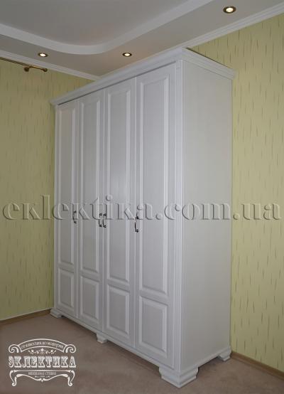 Шкаф Магия 4 двери Шкафы из дерева Одесса, шкафы под заказ