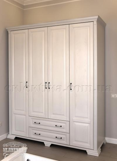 Шкаф Магия 4 двери 2 ящика Шкафы из дерева Одесса, шкафы под заказ