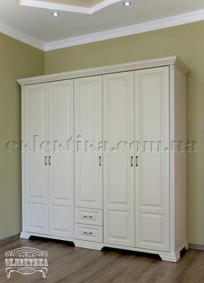 Шкаф Магия 5 дверей 2 ящика Шкафы из дерева Одесса, шкафы под заказ