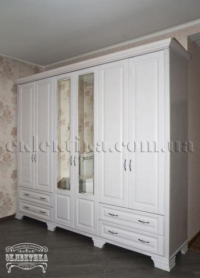 Шкаф Магия 6 дверей 4 ящика Шкафы из дерева Одесса, шкафы под заказ