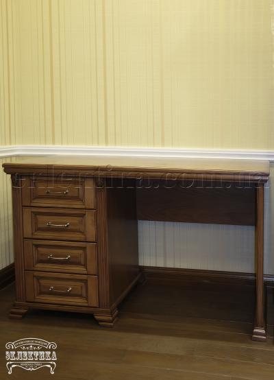 Стол письменный Магия 4 ящика Письменные столы из дерева Одесса, деревянные письменные столы под заказ