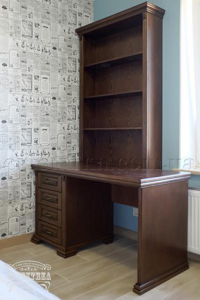 Стеллаж книжный Магия Письменные столы из дерева Одесса, деревянные письменные столы под заказ