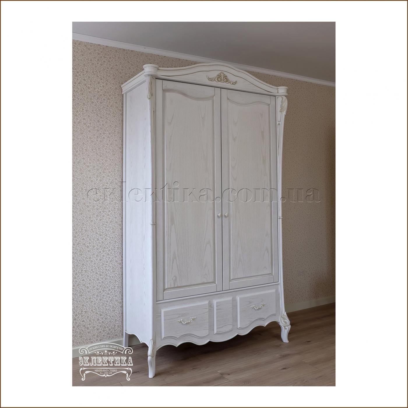 Шкаф Валенсия 2 двери 2 ящика