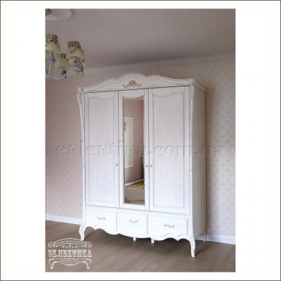 Шкаф Валенсия 3 двери 2 ящика Валенсия
