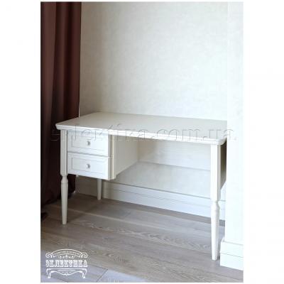 Письменный стол Сиена-Конфети 2 ящика Письменные столы из дерева Одесса, деревянные письменные столы под заказ