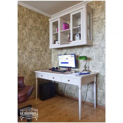 Письменный стол Сиена-Конфети 3 ящика Письменные столы из дерева Одесса, деревянные письменные столы под заказ