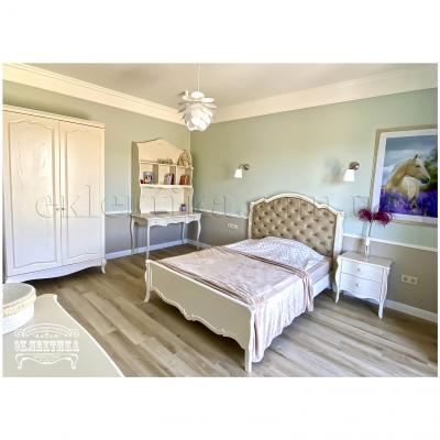 Кровать Корсика (с мягкой подушкой) Корсика-Слим