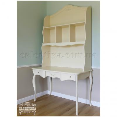 Письменный стол Корсика-Слим 3 ящика Письменные столы из дерева Одесса, деревянные письменные столы под заказ