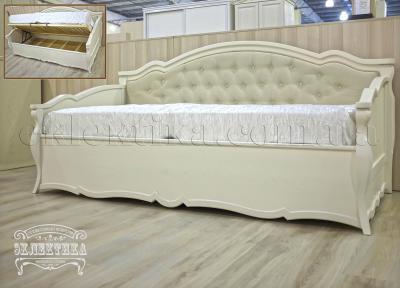 Диван Корсика с подъёмным механизмом Кровати из дерева Одесса, деревянные кровати под заказ
