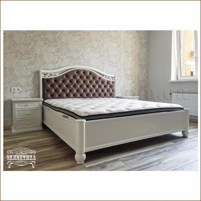 Кровать Сиена Кровати из дерева Одесса, деревянные кровати под заказ