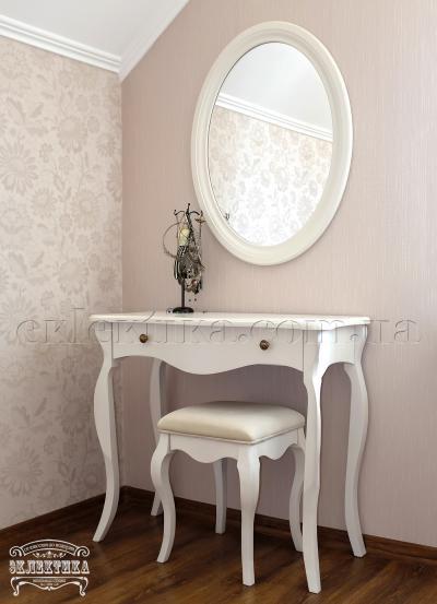 Будуарный стол Корсика 1 ящик Будуарные столы из дерева Одесса, туалетные столики