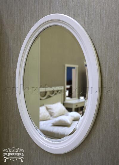 Рама с зеркалом Корсика овальная Будуарные столы из дерева Одесса, туалетные столики