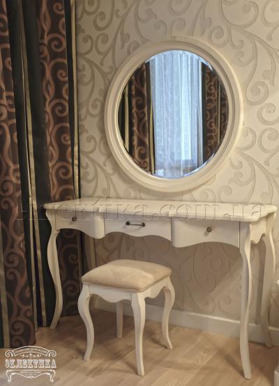 Будуарный стол Корсика 3 ящика Будуарные столы из дерева Одесса, туалетные столики