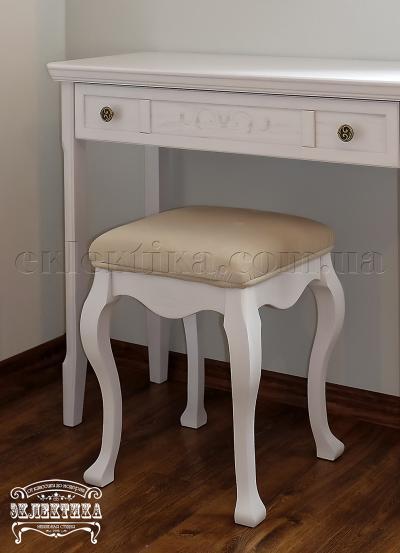 Пуф Сиена Будуарные столы из дерева Одесса, туалетные столики