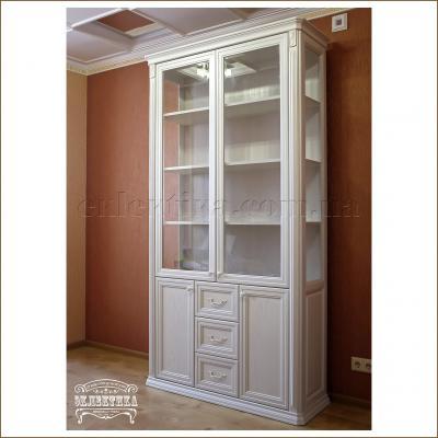 Витрина Сиена 4 двери 3 ящика Сиена