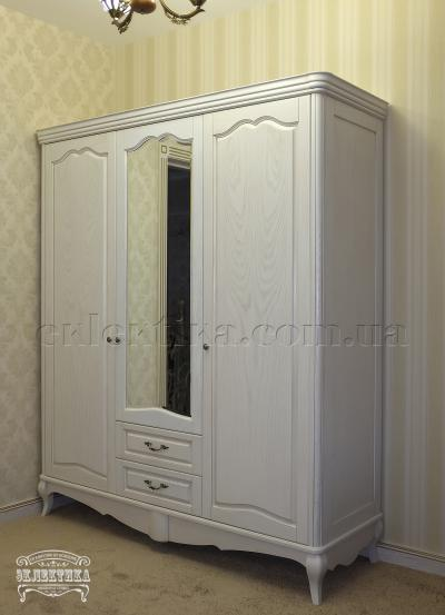 Шкаф Корсика 3 двери 2 ящика Шкафы из дерева Одесса, шкафы под заказ