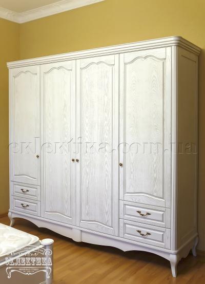Шкаф Корсика 4 двери 4 ящика Шкафы из дерева Одесса, шкафы под заказ