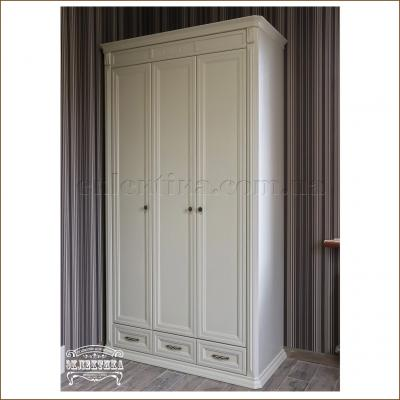 Шкаф Сиена 3 двери 3 ящика Сиена