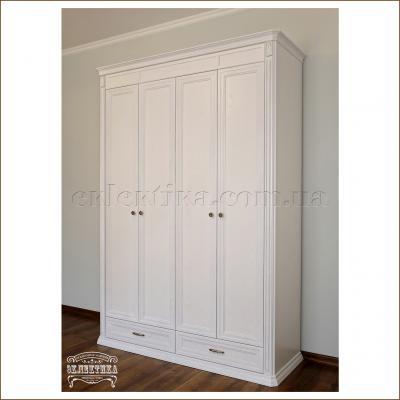 Шкаф Сиена 4 двери 2 ящика Сиена