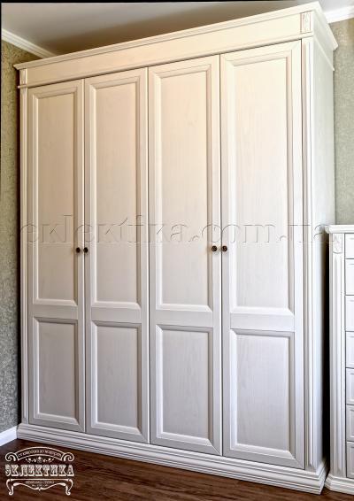 Шкаф Тоскана 4 двери Шкафы из дерева Одесса, шкафы под заказ