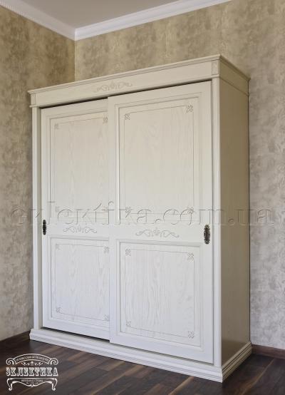 Шкаф-купе Тоскана 2 двери Шкафы-купе из дерева Одесса, деревянные шкафы-купе под заказ