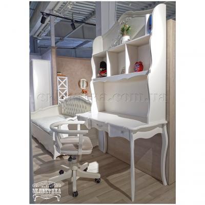 Письменный стол Корсика 3 ящика Письменные столы из дерева Одесса, деревянные письменные столы под заказ