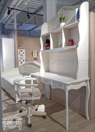 Стол письменный Корсика 3 ящика Письменные столы из дерева Одесса, деревянные письменные столы под заказ