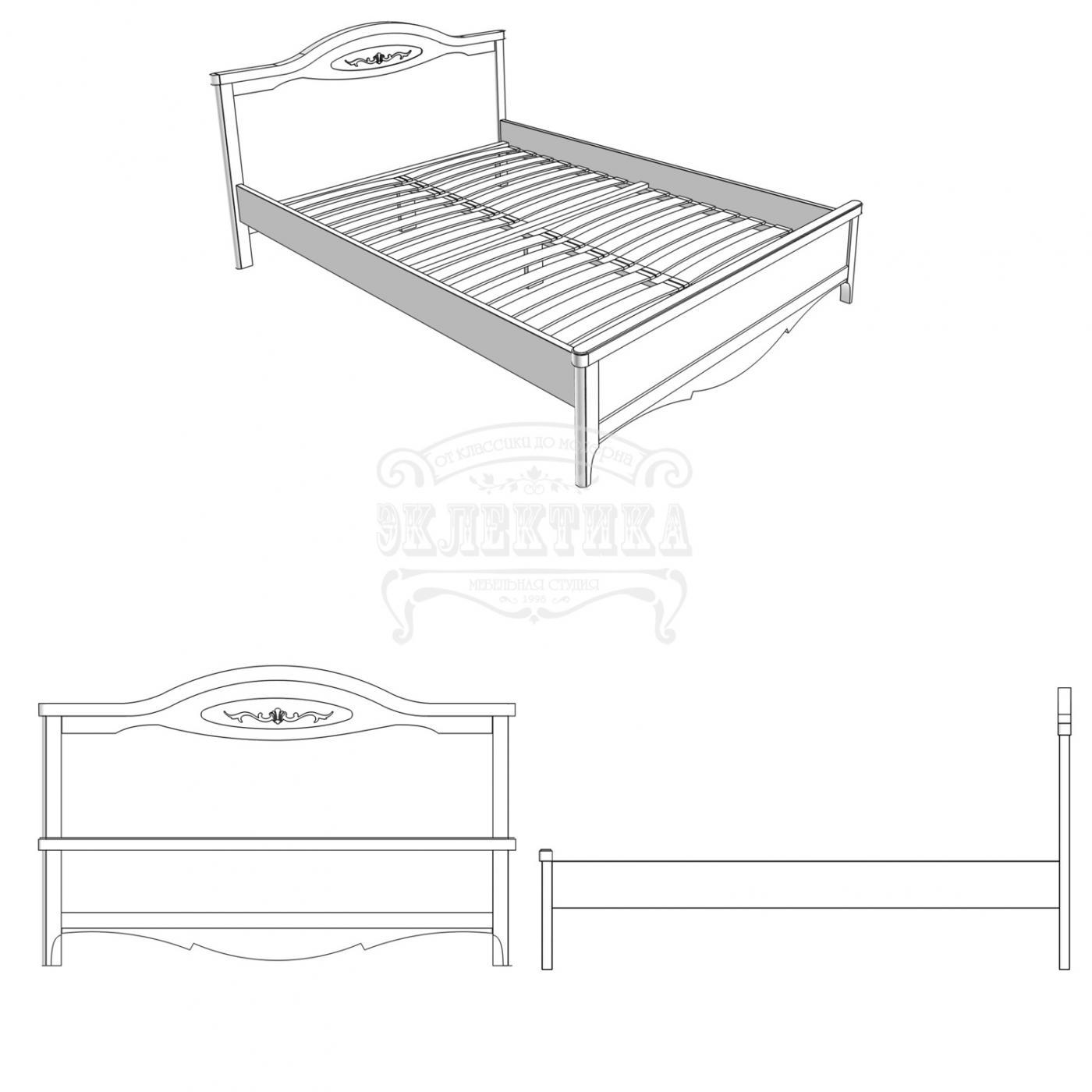 Кровать Прованс2