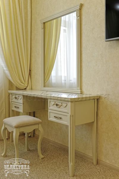 Будуарный стол Сиена 4 ящика Будуарные столы из дерева Одесса, туалетные столики