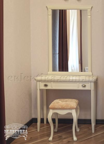 Рама с зеркалом Сиена Будуарные столы из дерева Одесса, туалетные столики