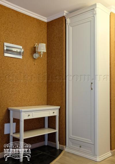 Шкаф Сиена 1 дверь 1 ящик Шкафы из дерева Одесса, шкафы под заказ
