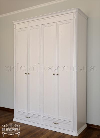 Шкаф Сиена 4 двери 2 ящика Шкафы из дерева Одесса, шкафы под заказ