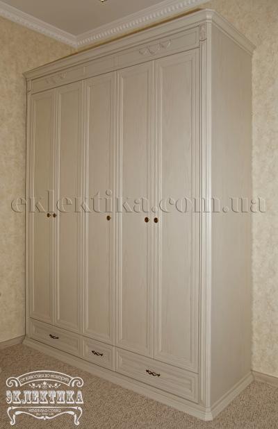 Шкаф Сиена 5 дверей 3 ящика Шкафы из дерева Одесса, шкафы под заказ