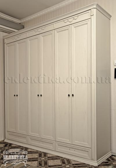 Шкаф Сиена 6 дверей 3 ящика Шкафы из дерева Одесса, шкафы под заказ
