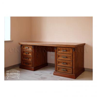 Стол письменный Тоскана Письменные столы из дерева Одесса, деревянные письменные столы под заказ