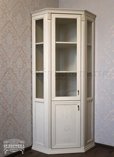 Витрина угловая Сиена 2 двери Серия