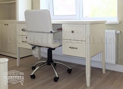 Стол письменный Сиена 4 ящика Письменные столы из дерева Одесса, деревянные письменные столы под заказ