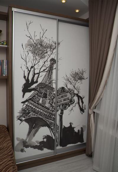 4 Шкафы-купе из дерева Одесса, деревянные шкафы-купе под заказ