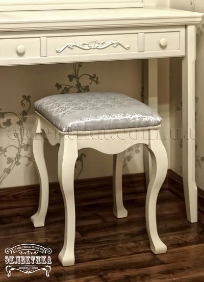 Пуф Магия Будуарные столы из дерева Одесса, туалетные столики