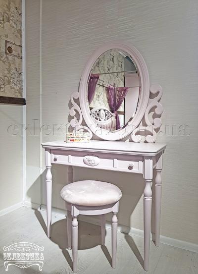 Рама с зеркалом Сиена-Конфети с псише Детская мебель
