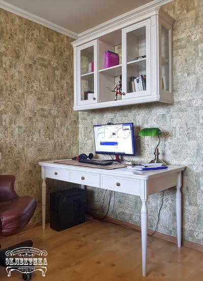 Стол письменный Сиена-Конфети 3 ящика Детская мебель
