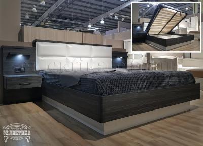 Кровать Толедо-2(подъёмный механизм) Кровати из дерева Одесса, деревянные кровати под заказ