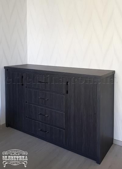 Комод Толедо 2 двери 4 ящика Комоды